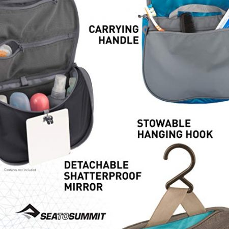 Sea to Summit Travelling Light Hanging Toiletry Bag 5