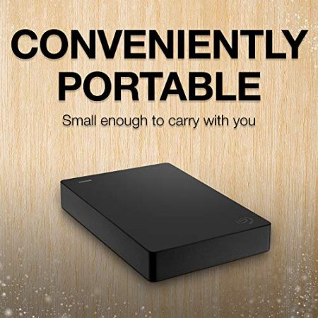 Seagate Portable 4TB External Hard Drive HDD – USB 3.0 for PC Laptop and Mac (STGX4000400) 2