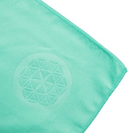 Shandali Microfiber Travel & Sports Towel. Absorbent, Fast Drying & Compact. Great for Yoga, Gym, Camping, Kitchen, Golf, Beach, Fitness, Pool, Workout, Sport, Dish or Bath.! 5