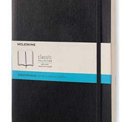 Moleskine Classic Notebook, Soft Cover, XL Dotted 8