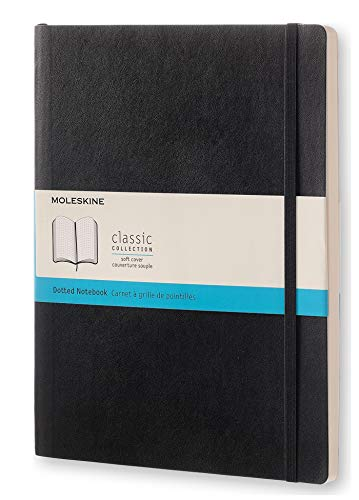 Moleskine Classic Notebook, Soft Cover, XL Dotted 1